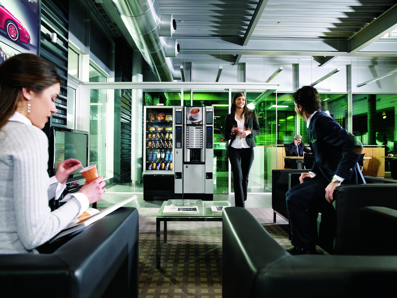 Автоматы для продажи воды и еды