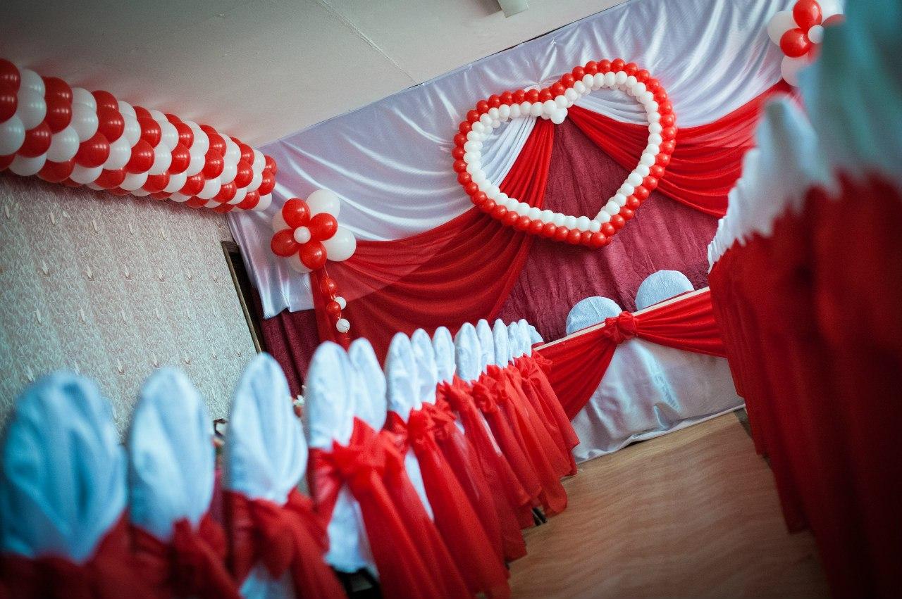 Украшение зала на свадьбу своими руками пошагово шарами фото