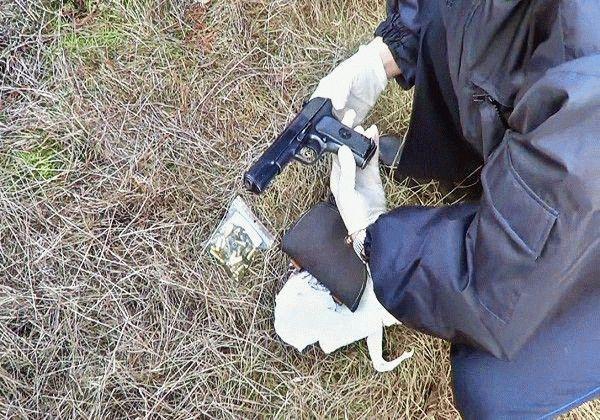 Оружие, из которого стреляли в Березявко.