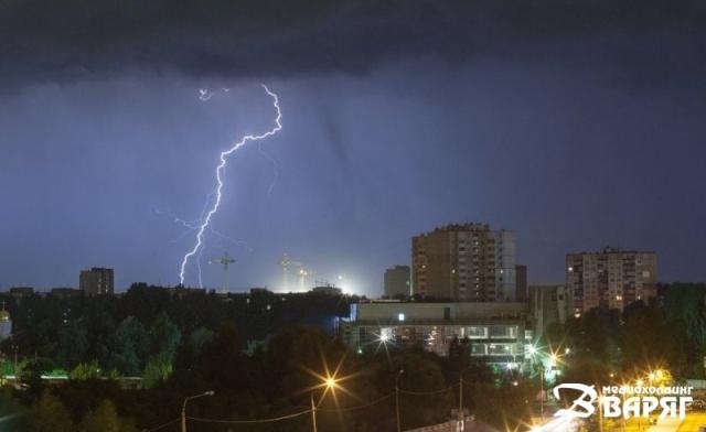 Сильные дожди и грозы ожидаются в Беларуси в воскресенье, 10 апреля
