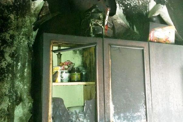 В Пинске на пожаре спасен 60-летний мужчина