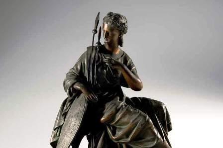 бронзовые статуэтки - фото