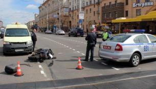 Дело о байкере, сбившем сотрудника ГАИ, направлено в суд