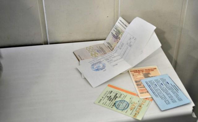 пойманы с поддельными зарубежными водительскими правами