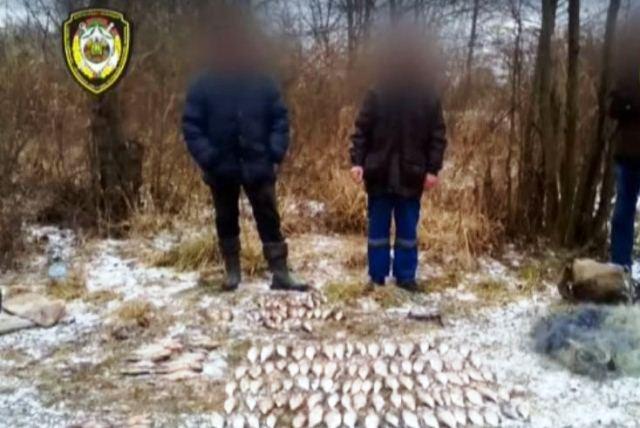 Трое браконьеров порыбачили в затоне Припяти на Br5,4 тыс.