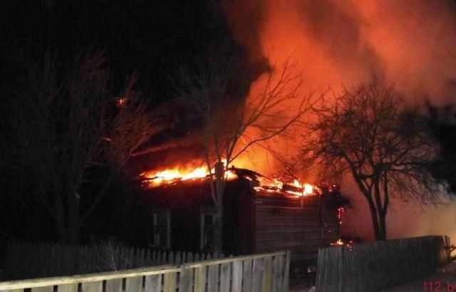 ВМозырском районе напожаре погибли мать исын