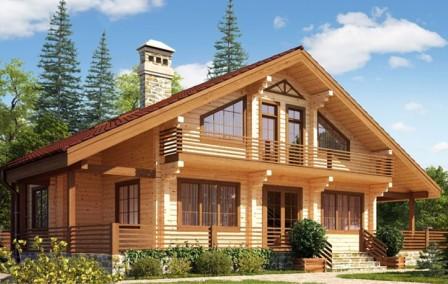 Деревянные дома - фото