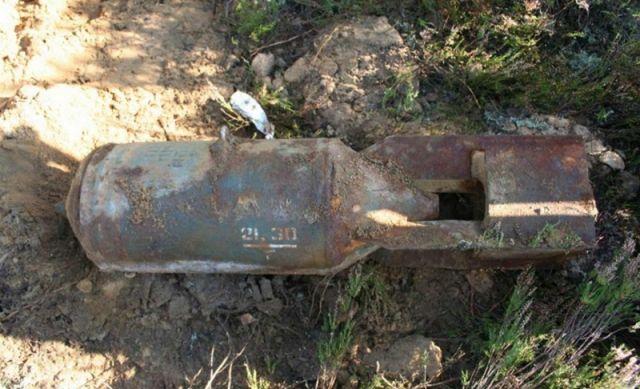 Авиабомбу времен войны обнаружили в Пинске вблизи вокзала