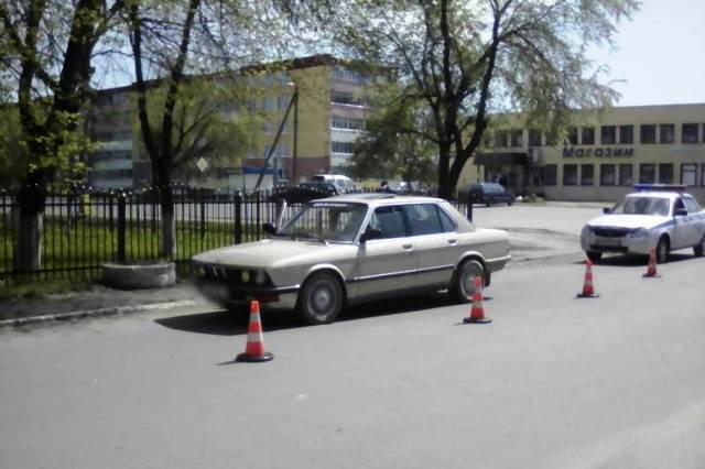 В Пинском районе BMW сбил пенсионерку в инвалидной коляске