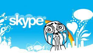 Сбой в Skype произошел во всем мире