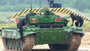 первый этап танкового биатлона