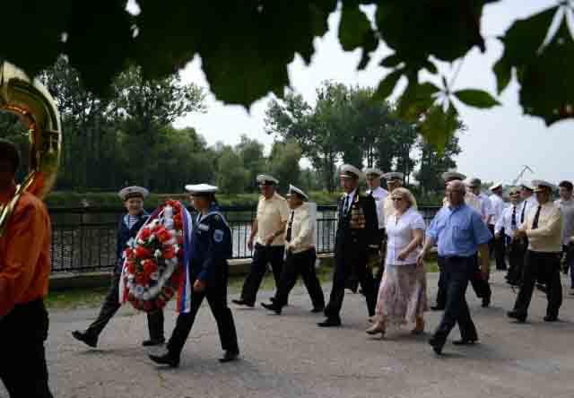 В Пинске отметят День Военно-морского Флота