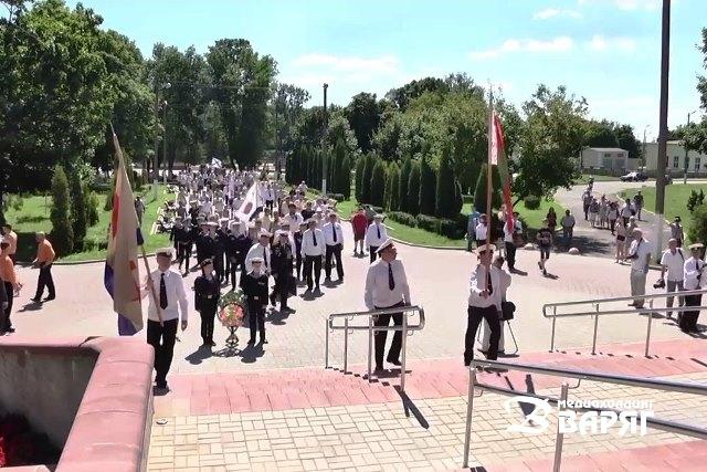 День военно-морского флота отметили в Пинске
