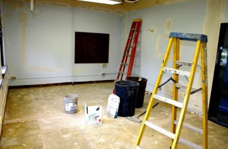 ремонт в однокомнатной квартире - фото