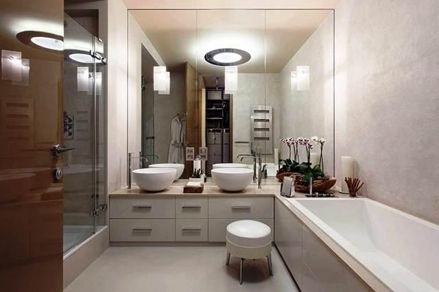 зеркала и полки для ванной