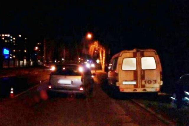 Пинчанин переходил дорогу вне перехода и умер под колесами Citroen