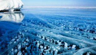 океан замерз