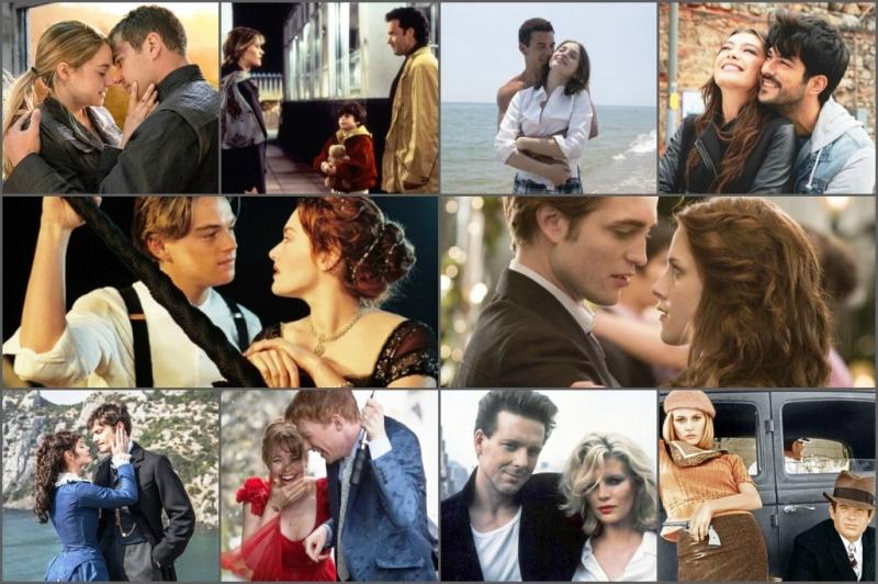 10 самых романтичных пар в кино.