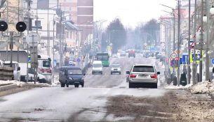 Ситуация на дорогах Пинска - фото
