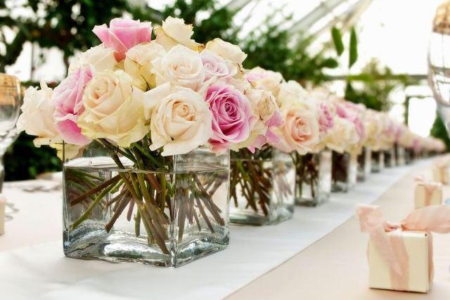 стеклянные вазы - фото