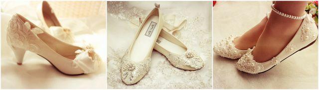 Обувь для беременной невесты