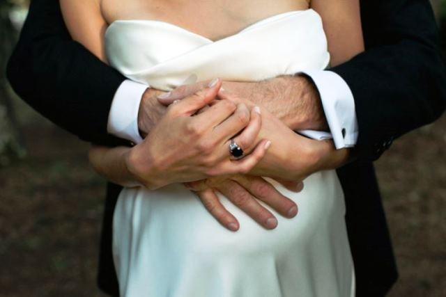 Свадьба в ожидании чуда: беременная невеста - фото