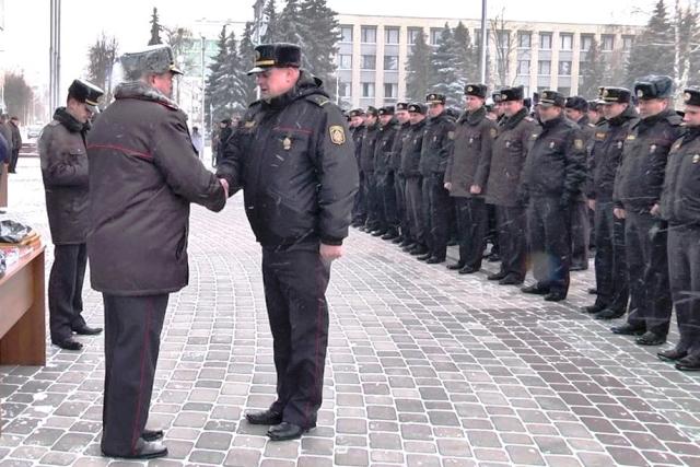 ко Дню белорусской милиции - фото
