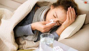 Заболеваемость гриппом - фото