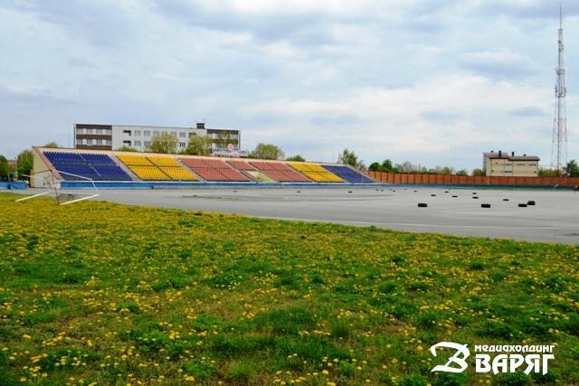 Стадион ДОСААФ в Пинске - фото