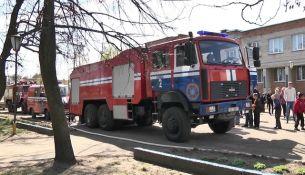 Автопробег МЧС в Брестской области - фото