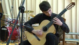 Концерт в Пинской детской школе искусств - фото.