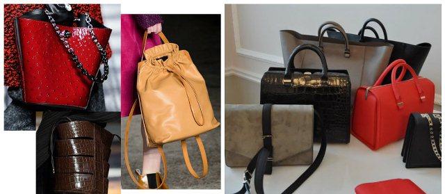 выбрать женскую сумку - модные тренды - фото