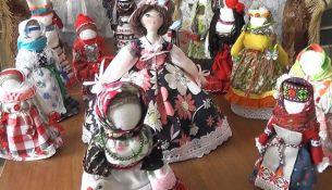 Кукла столбушка - фото