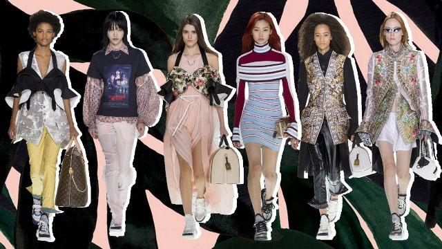 Психоделическая палитра 2018 - модные тенденции в женской одежде - фото