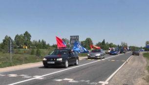 Автомотопробег в Пинском районе - фото