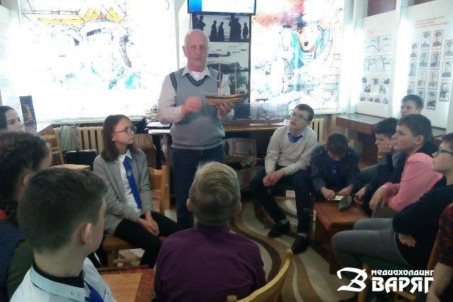 Ко Дню Победы в музее СШ №2 провели цикл тематических мастер-классов