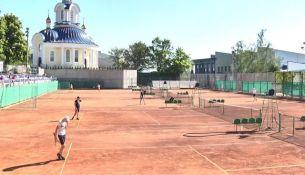 Теннисные корты в Пинске - фото