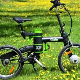 электрический велосипед - фото