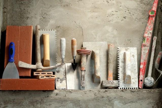 Материалы для штукатурных работ - фото