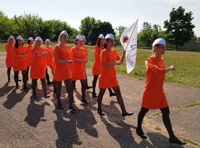 Соревнования сандружин Пинска - фото