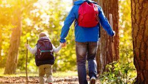 В поход с ребёнком - фото
