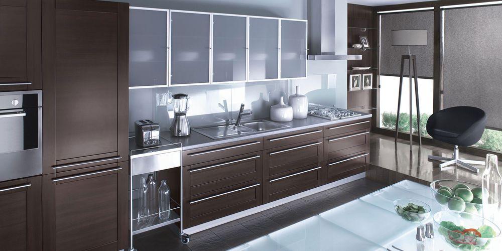 Современный стиль на кухне - фото
