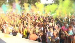 Фестиваль красок в Пинске - фото