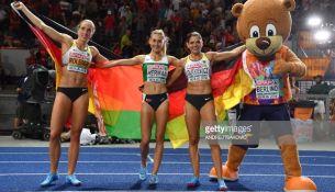 Пинчанка Эльвира Герман завоевала золото в беге с барьерами на Чемпионате Европы - фото