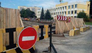 С 19 августа откроется ул. 60 лет Октября в Пинске, схема движения автобусов изменится - фото
