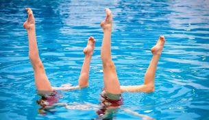 сборы среди любительских клубов по синхронному плаванию - фото