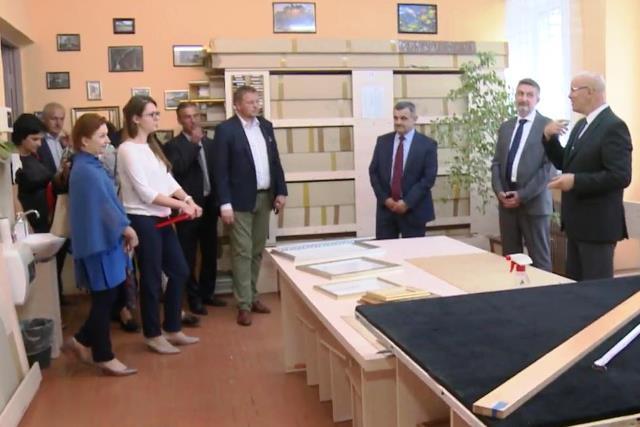 В рамках реализации проекта «Польская помощь» Пинский район посетила делегация из Польши - фото