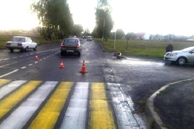 ДТП в Пинске: пострадал 65-летний велосипедист