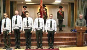 Офицеры Пинского погранотряда - фото