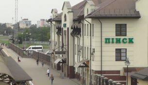 Железнодорожный вокзал Пинска - фото